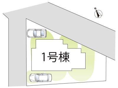 駐車2台分スペースございます。