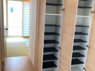 【井田産業】モデルハウス施工例(玄関)