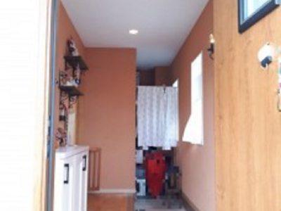 土間収納のある玄関(玄関)