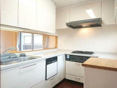 動線の良いシステムキッチン♪床暖房つき♪(キッチン)