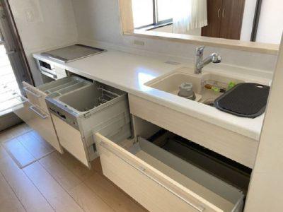 食洗機つきのシステムキッチン♪(キッチン)