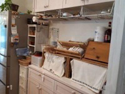 カウンタータイプの収納(キッチン)