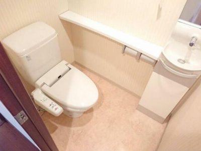 温水洗浄便座付きトイレ新調