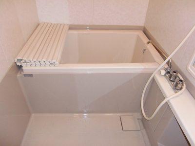 1日の疲れを癒すバスルーム(風呂)