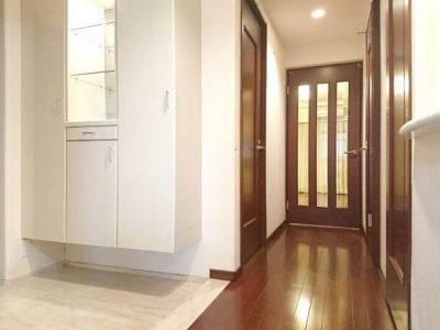 玄関からリビングへの廊下(内装)