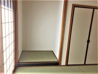 床の間のある本格的な和室(内装)
